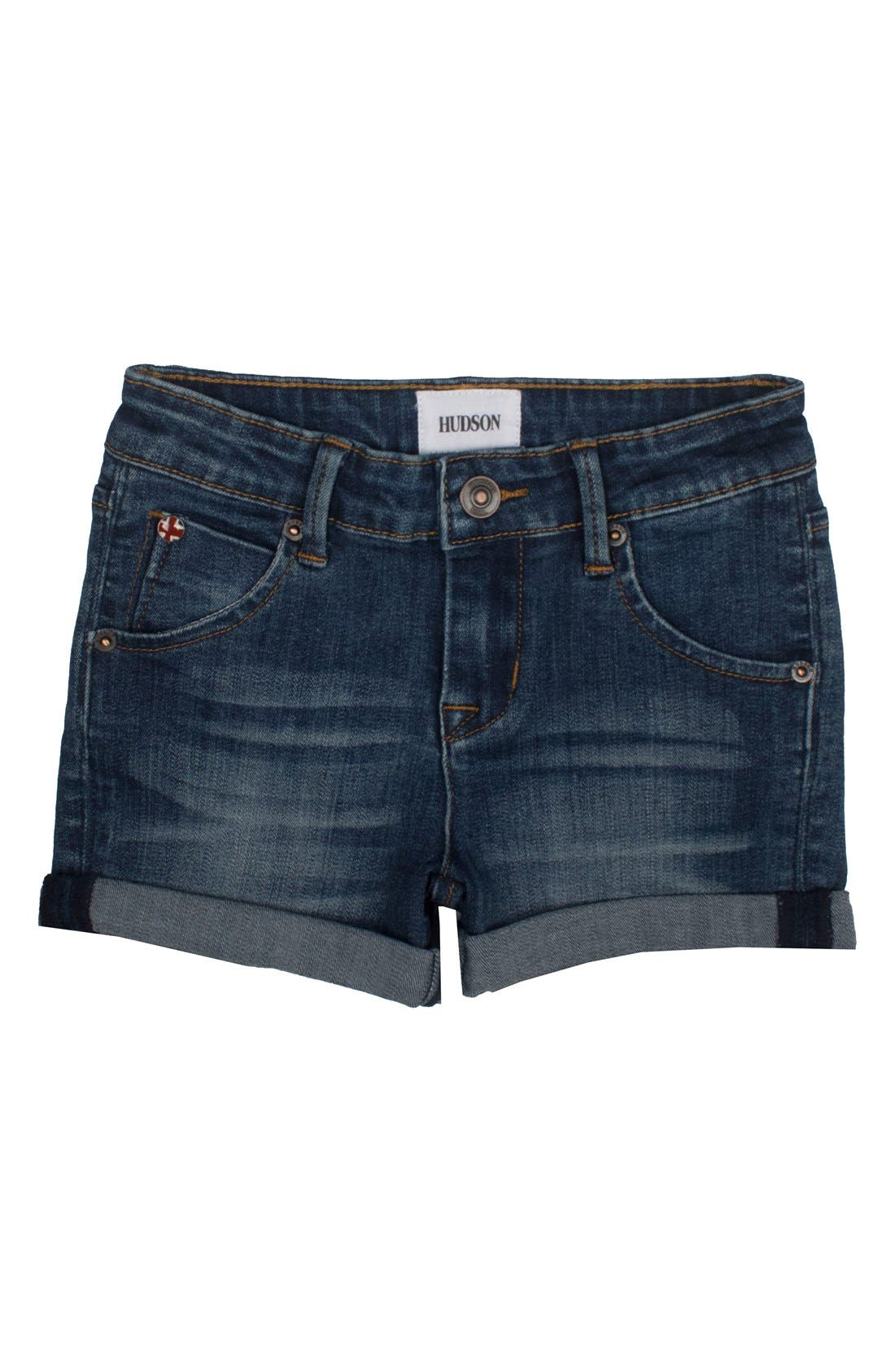 HUDSON KIDS Roll Cuff Jean Shorts
