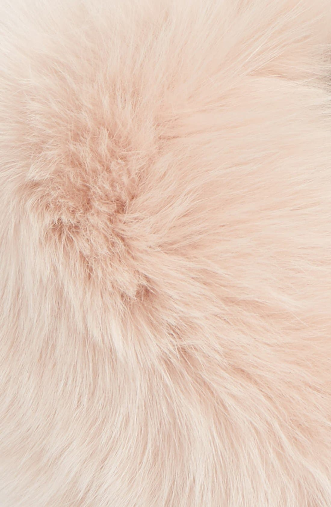 Alternate Image 3  - Burberry Genuine Fox Fur Collar