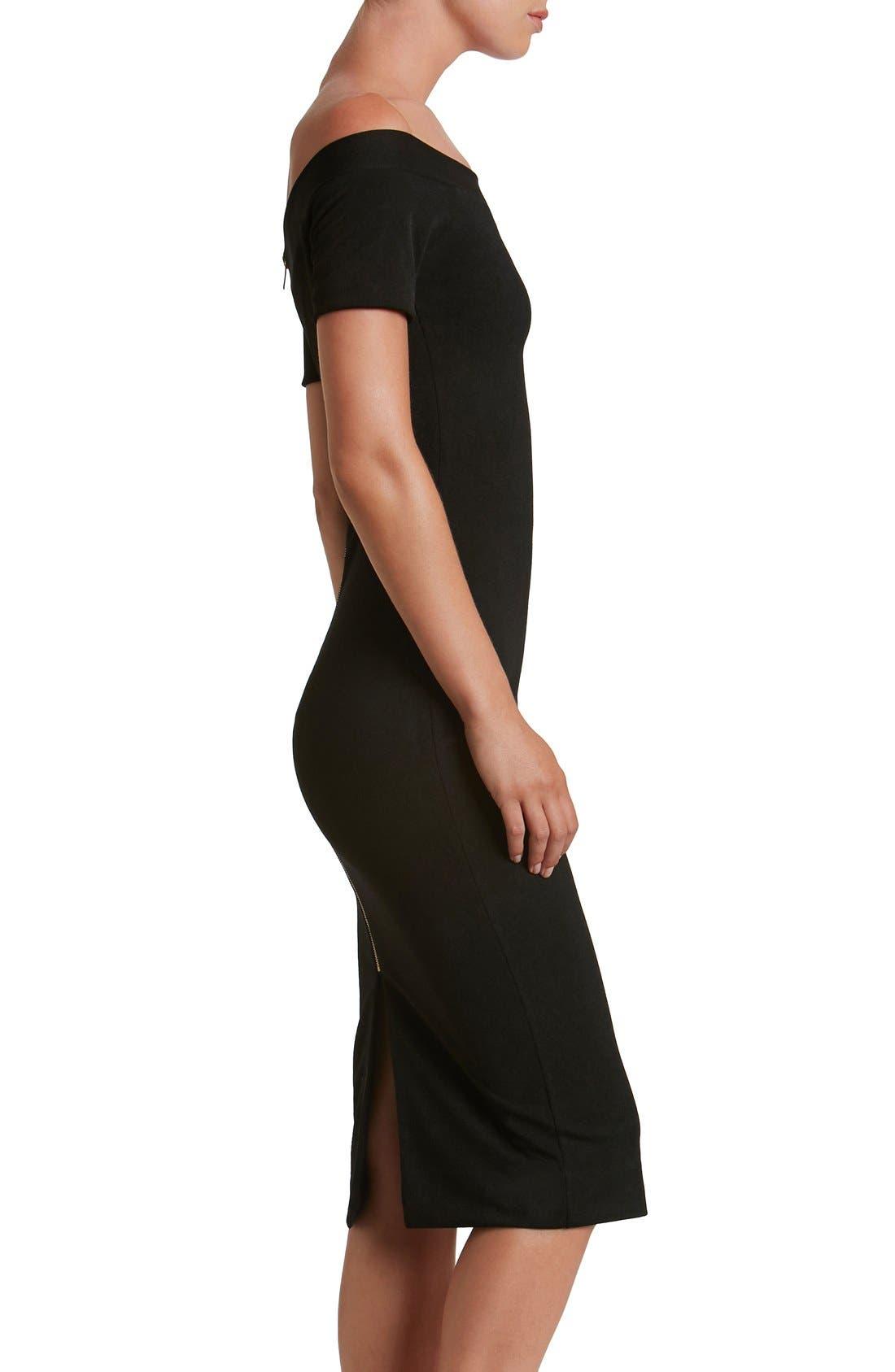 Alternate Image 3  - Dress the Population Marissa Body-Con Midi Dress