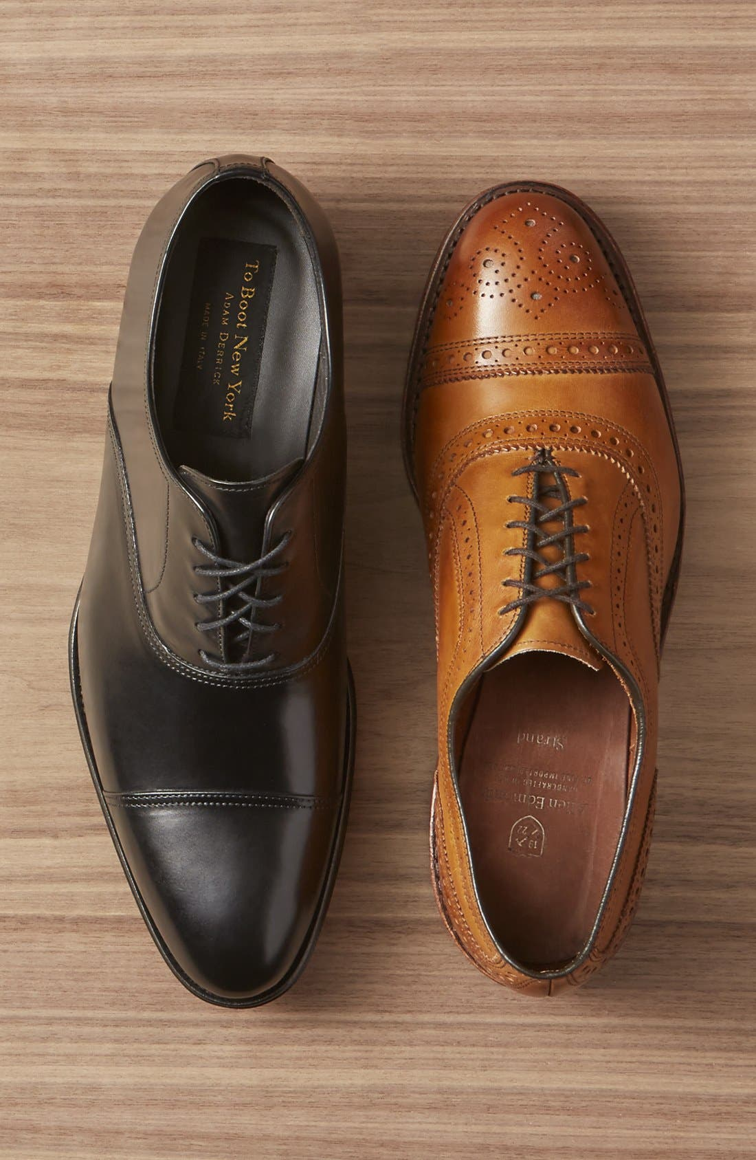 Alternate Image 7  - To Boot New York Brandon Cap Toe Oxford (Nordstrom Exclusive) (Men)