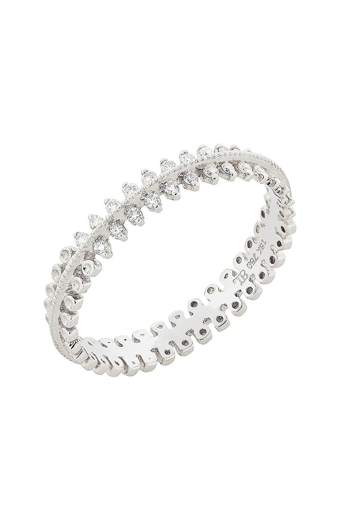 Main Image - Bony Levy Stackable Three Row Diamond Band Ring