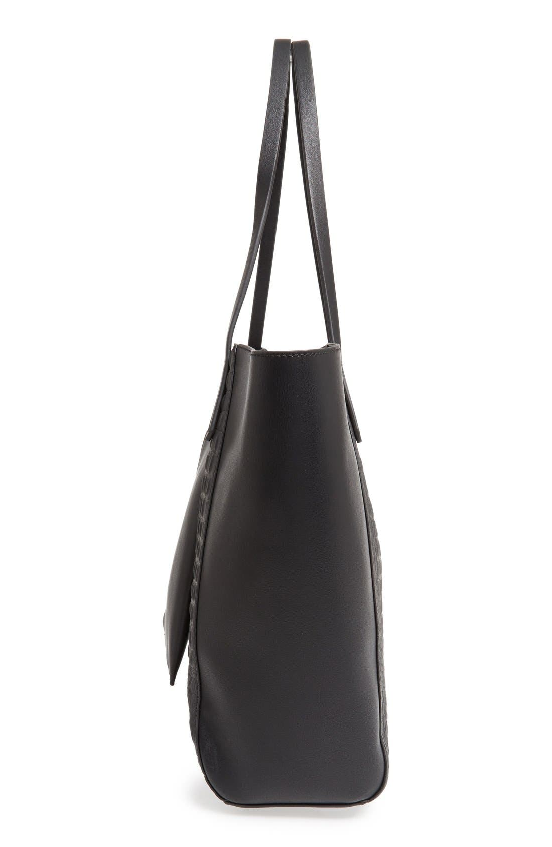 Alternate Image 5  - BP. Embossed Faux Leather Tote