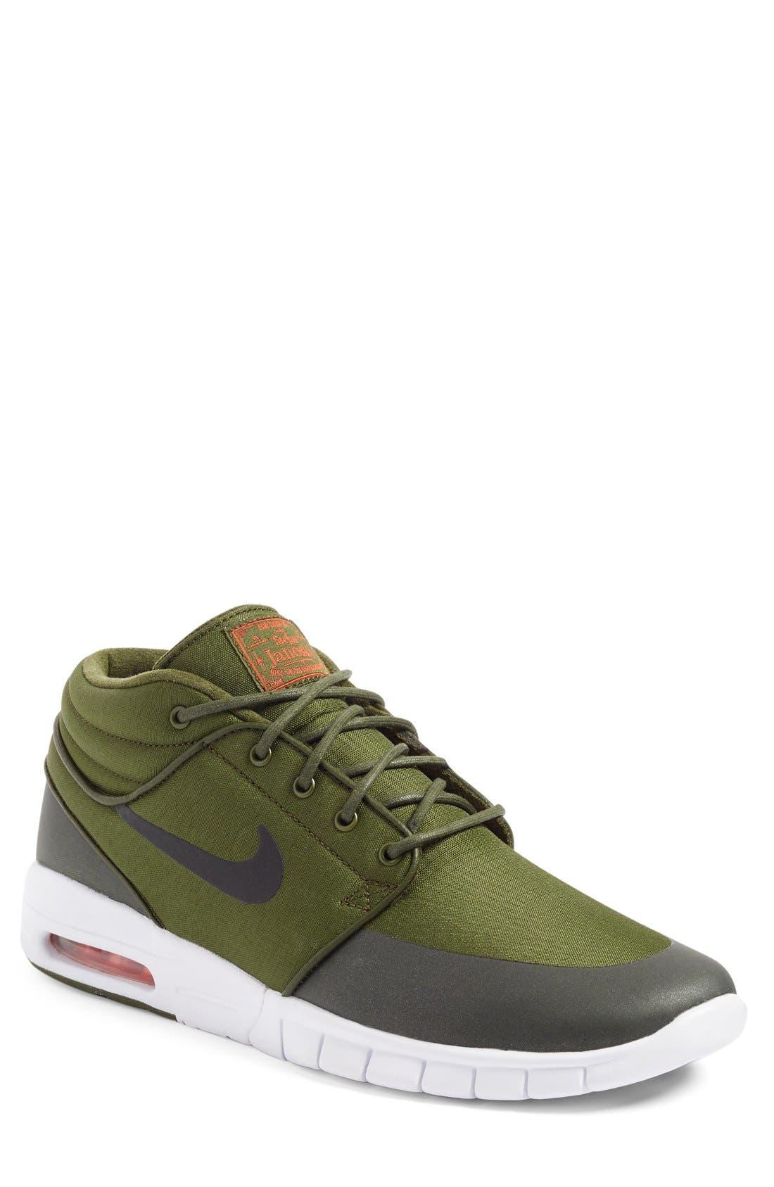 Alternate Image 1 Selected - Nike SB Stefan Janoski Max Mid Skate Shoe (Men)