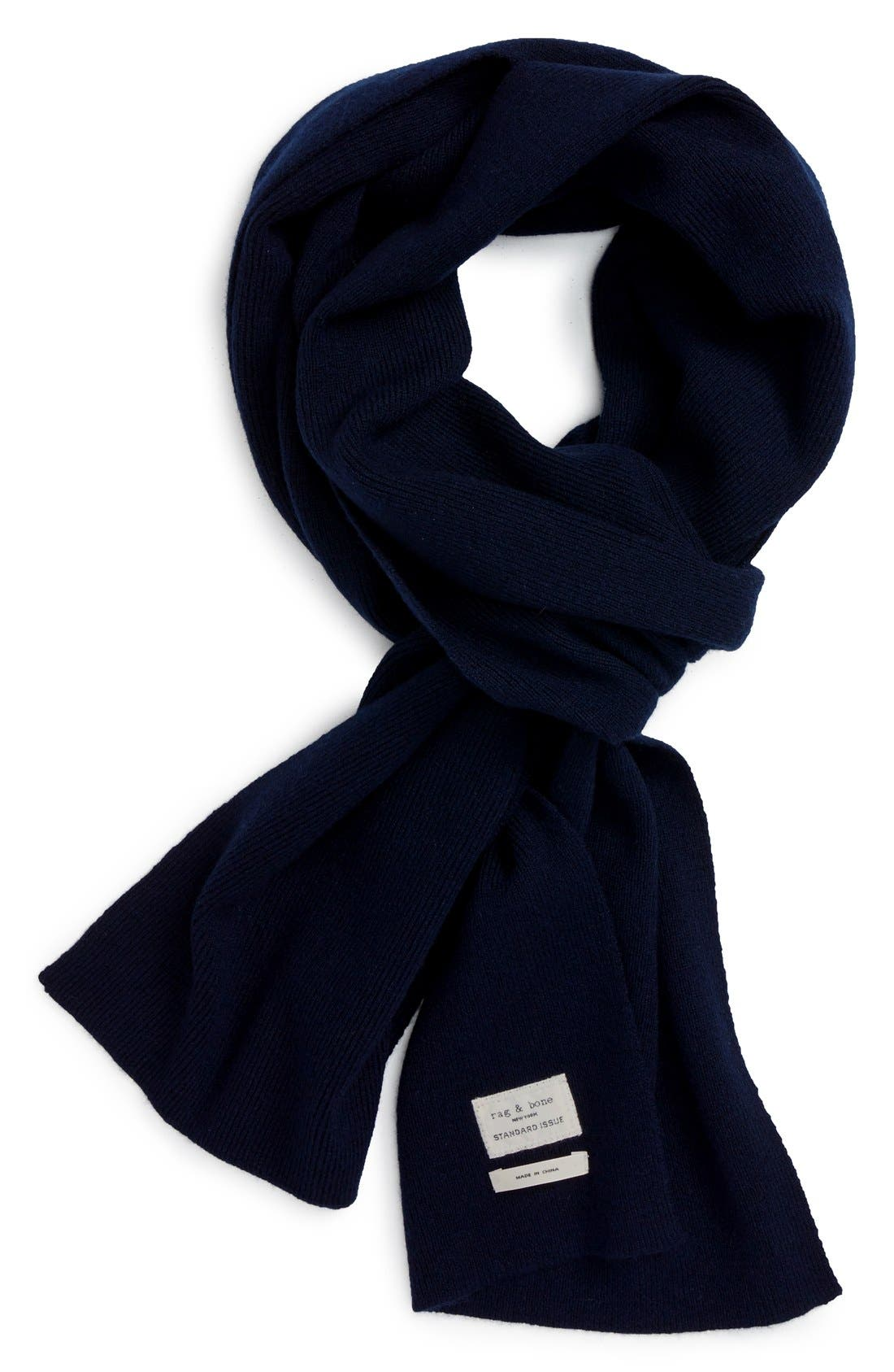 RAG & BONE Standard Issue Merino Wool Scarf
