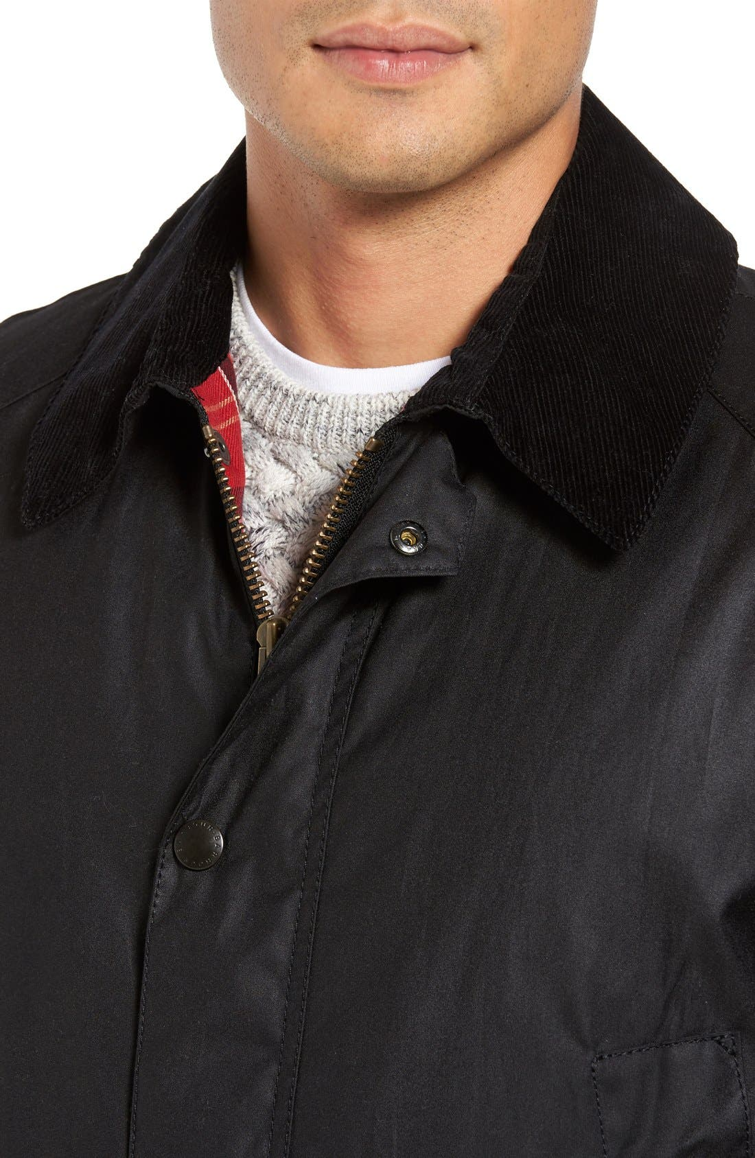Alternate Image 4  - Barbour Ashby Wax Jacket