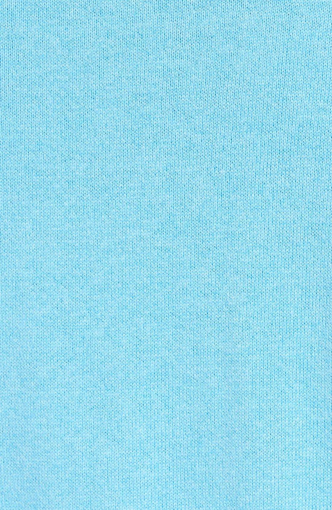 Alternate Image 5  - Nordstrom Men's Shop Cotton & Cashmere V-Neck Sweater (Regular & Tall)