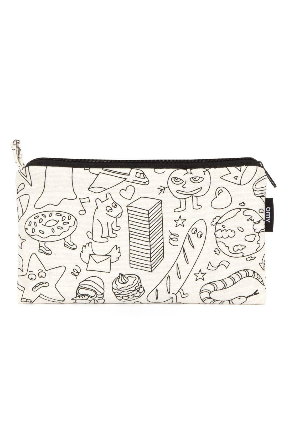 OMY Washable Coloring Pencil Case