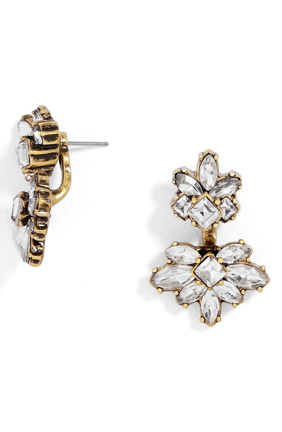 Main Image - BaubleBar Arcelia Crystal Ear Jackets