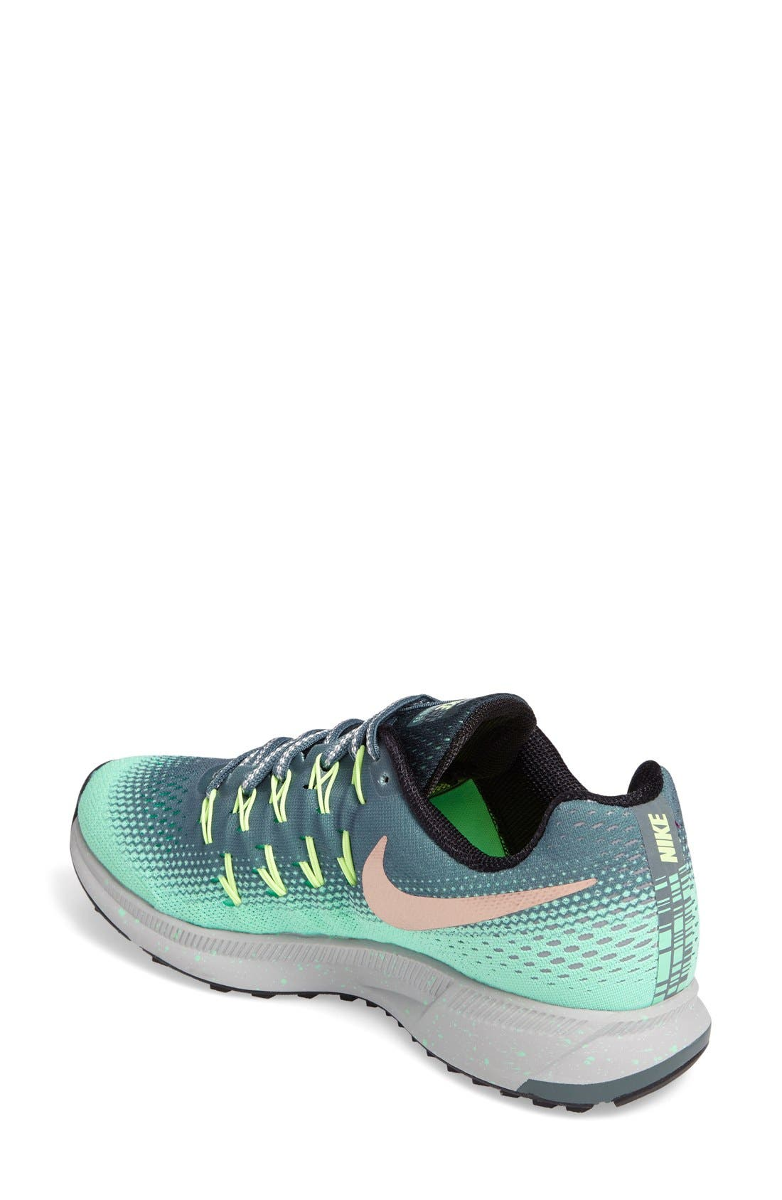 Alternate Image 2  - Nike Air Zoom Pegasus 33 Shield Running Shoe (Women)