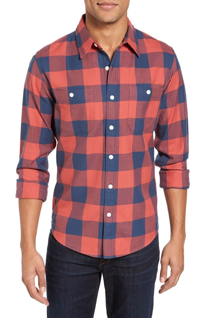 bonobos slim fit fieldhouse flannel shirt nordstrom