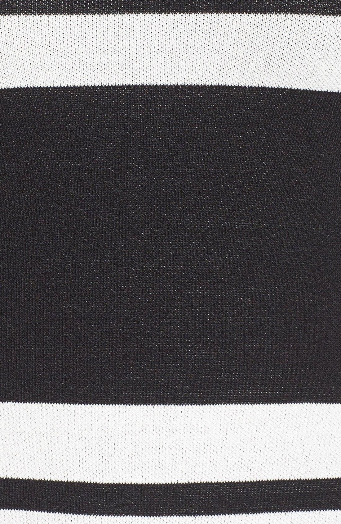 Alternate Image 5  - Eliza J Stripe Midi Dress (Regular & Petite)