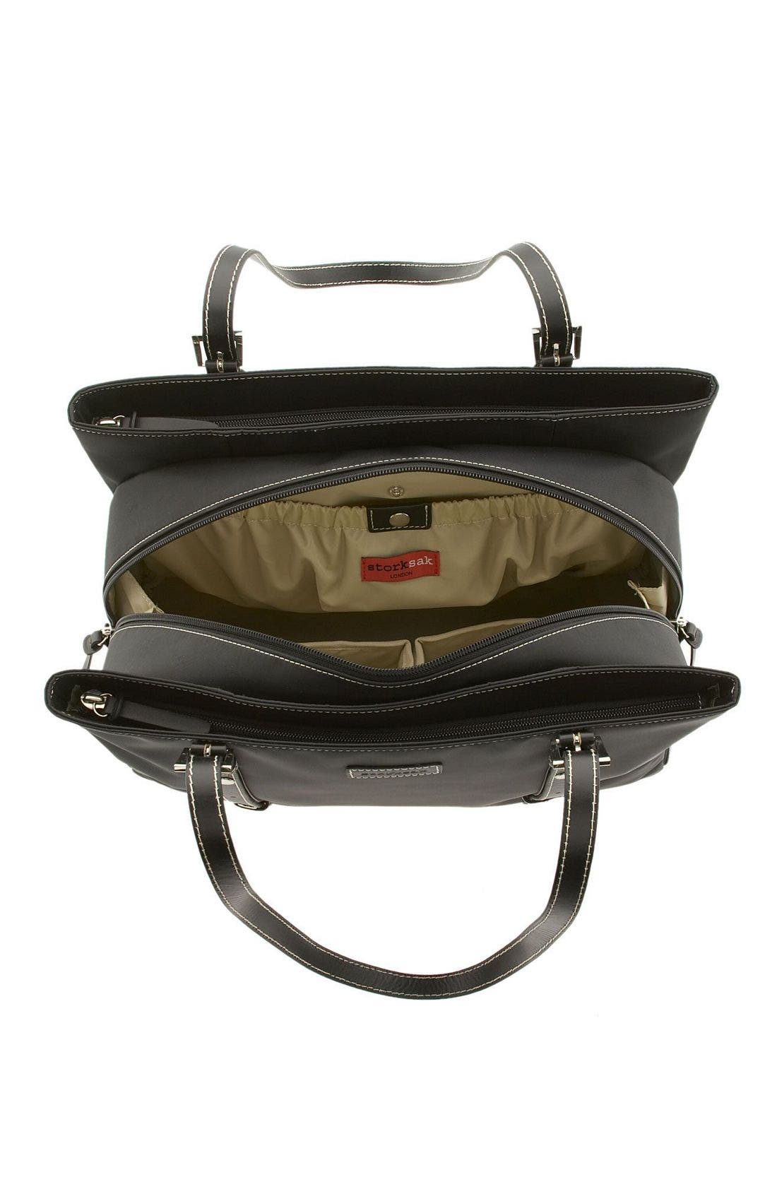 Alternate Image 3  - Storksak 'Gigi' Diaper Bag