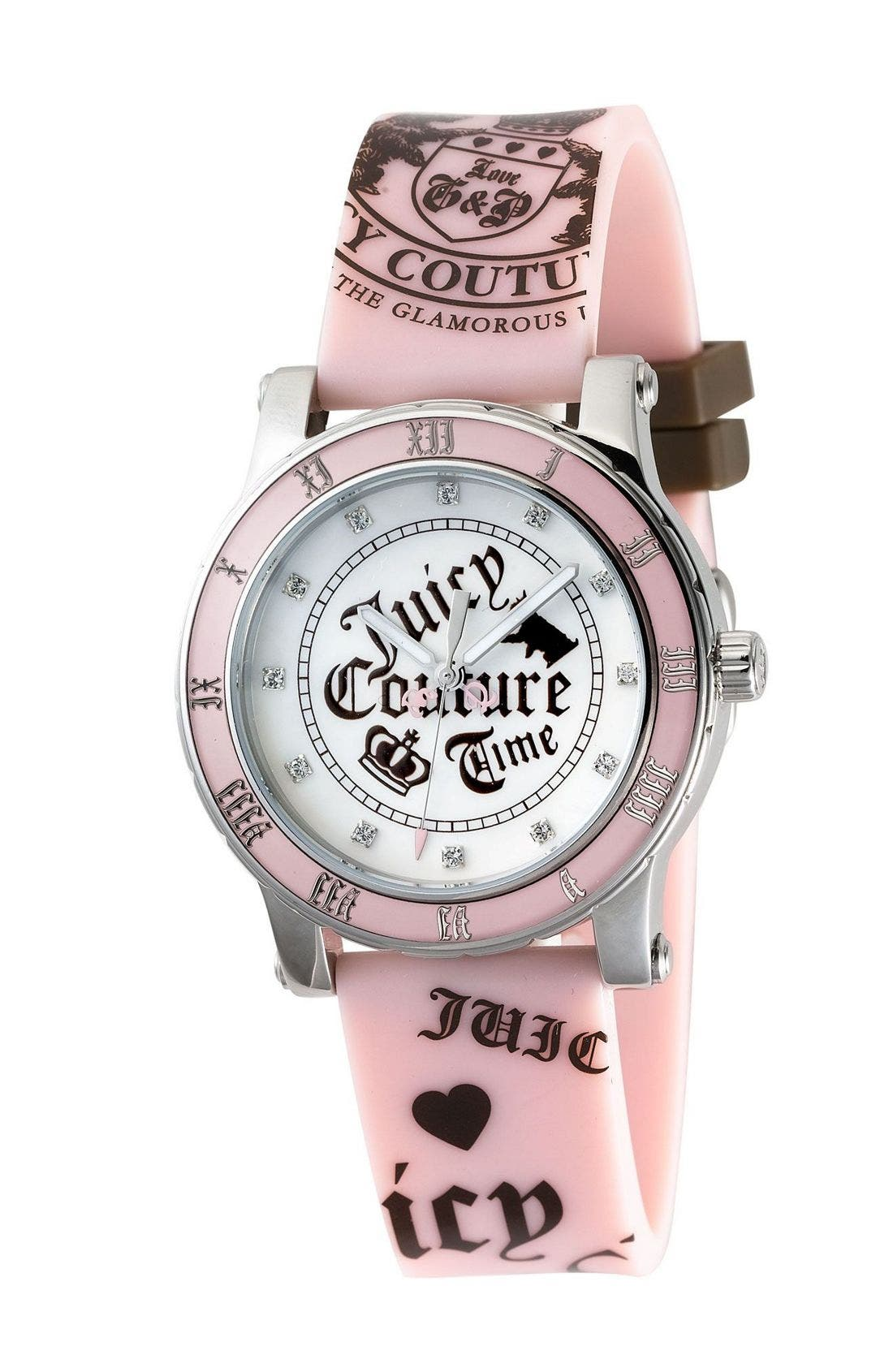 Alternate Image 1 Selected - Juicy Couture Jelly Band Sport Watch
