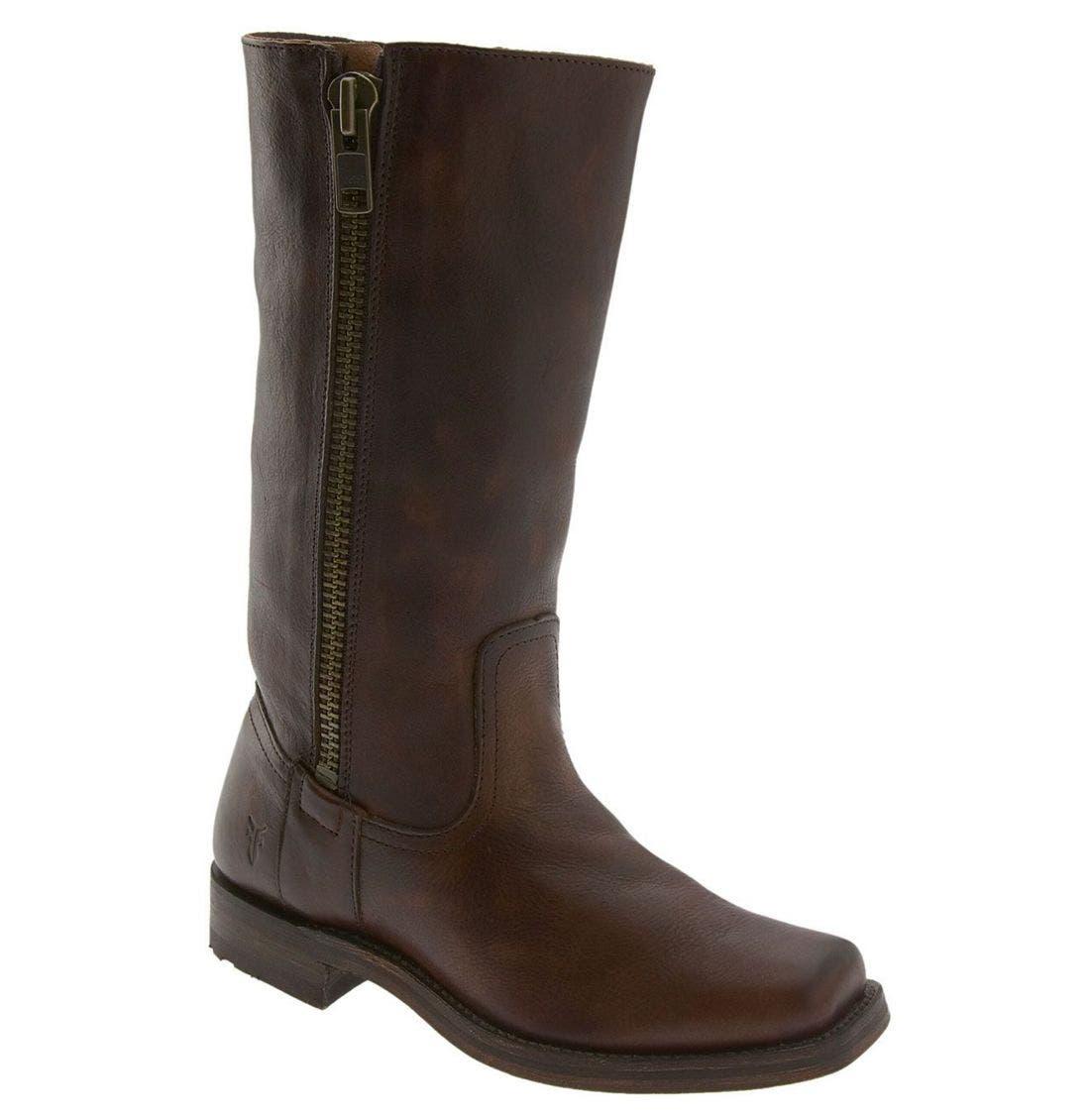 Main Image - Frye 'Heath' Outside Zip Boot