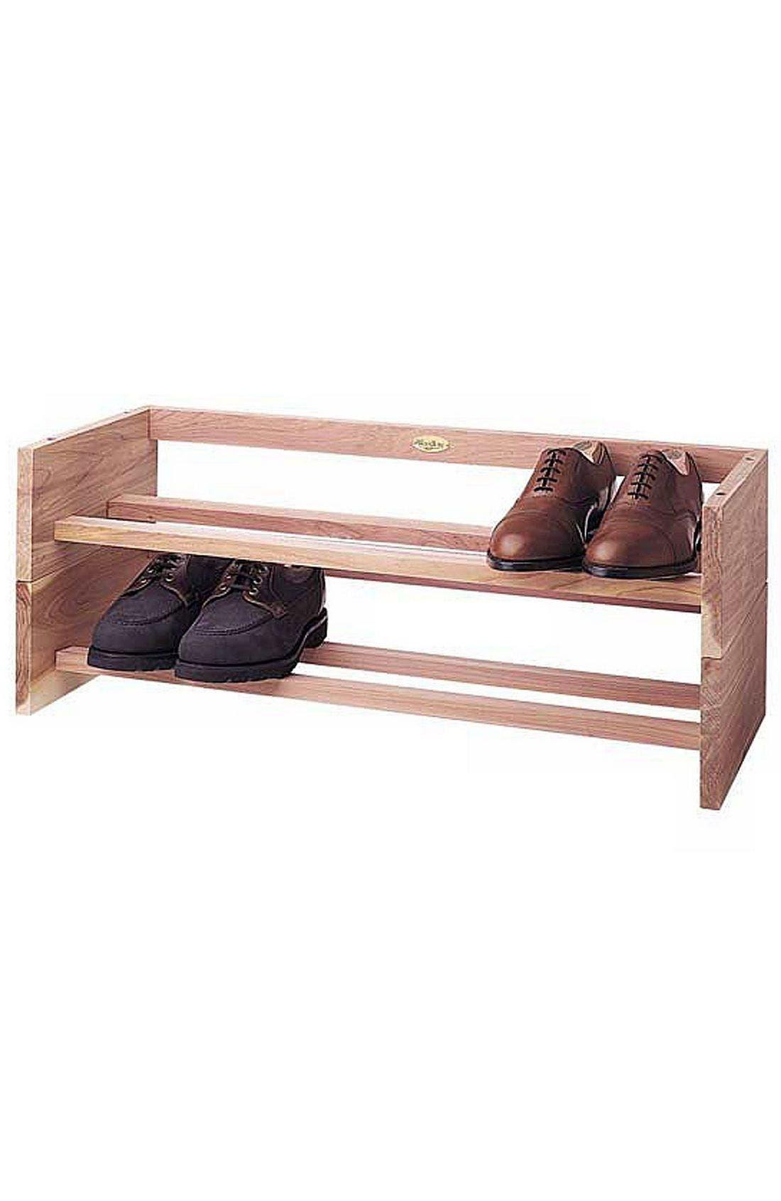 Alternate Image 1 Selected - Woodlore Cedar Shoe Rack