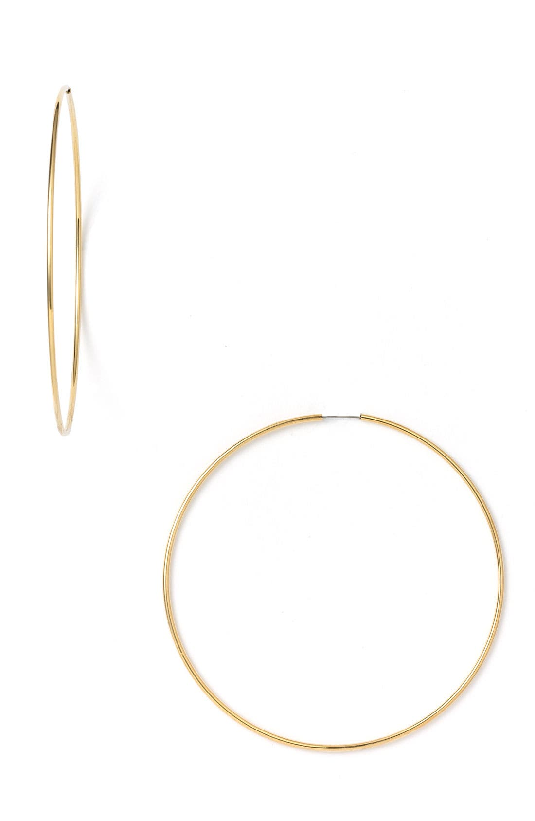 Alternate Image 1 Selected - Nordstrom Endless Oversized Hoop Earrings