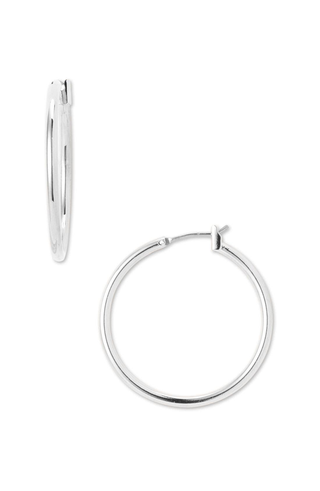 Alternate Image 1 Selected - Nordstrom Tube Hoop Earrings