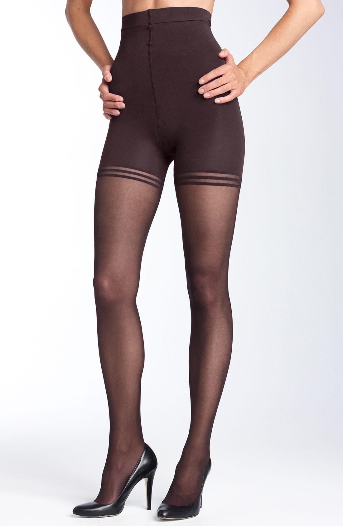 Main Image - Donna Karan 'Sheer Satin Ultimate Toner' Pantyhose