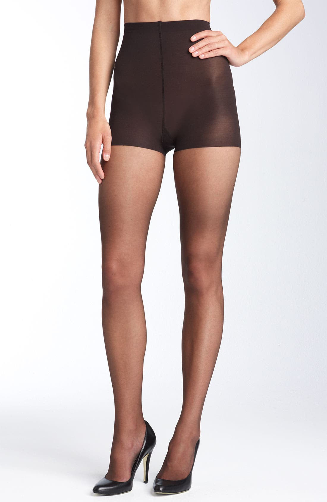 Alternate Image 1 Selected - Donna Karan 'Ultra Sheer' Control Top Pantyhose