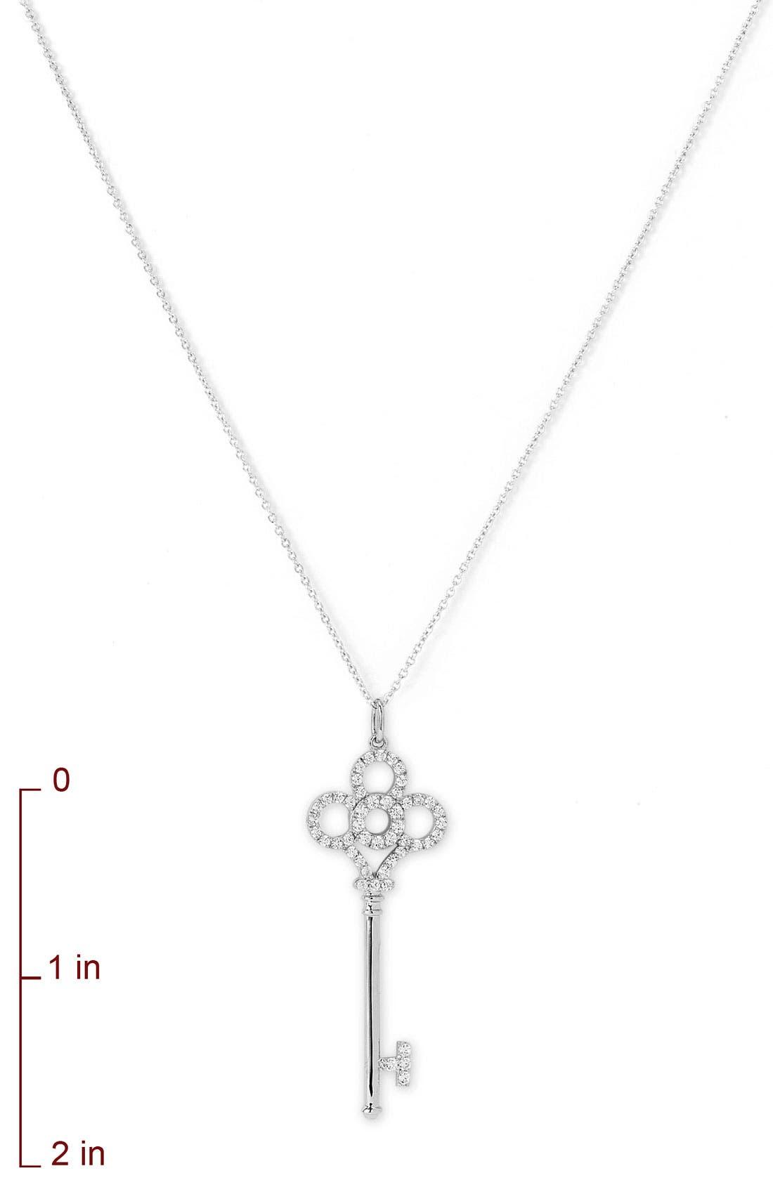 Alternate Image 2  - Nordstrom Key Pendant Necklace