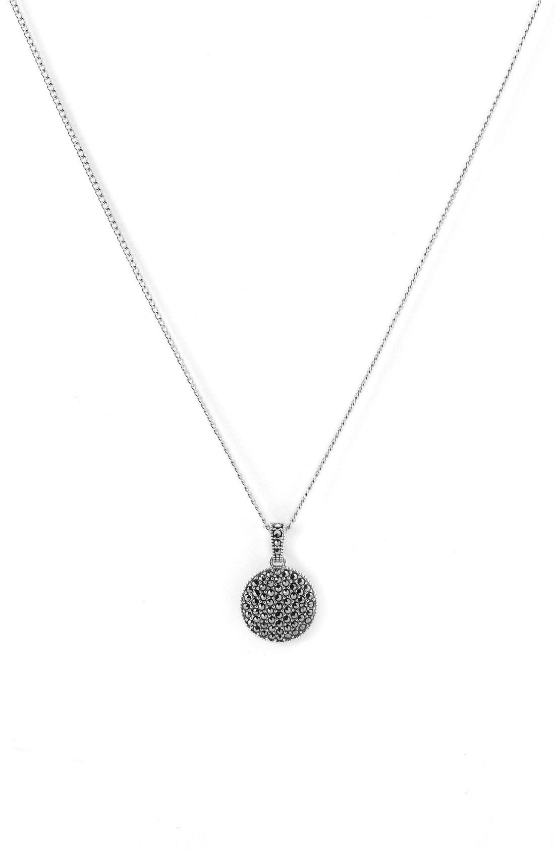 Judith Jack Reversible Pavé Pendant Necklace