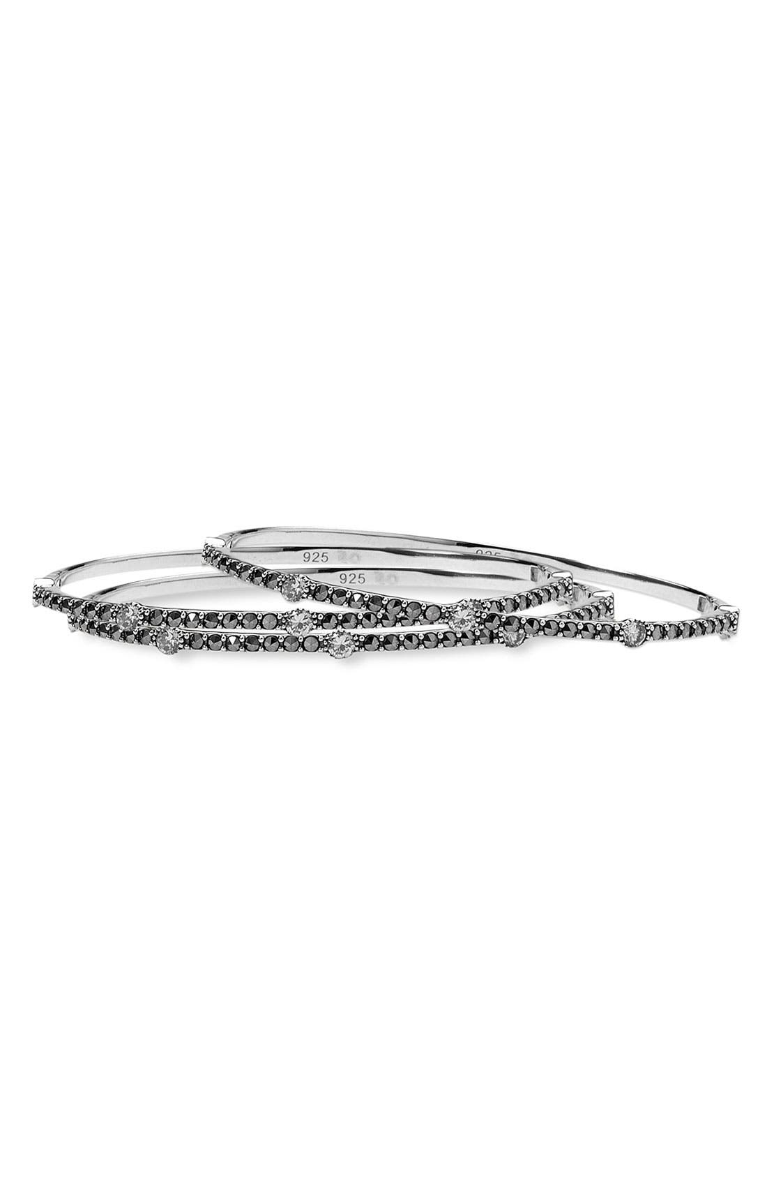 Alternate Image 1 Selected - Judith Jack Crystal & Marcasite Bangle