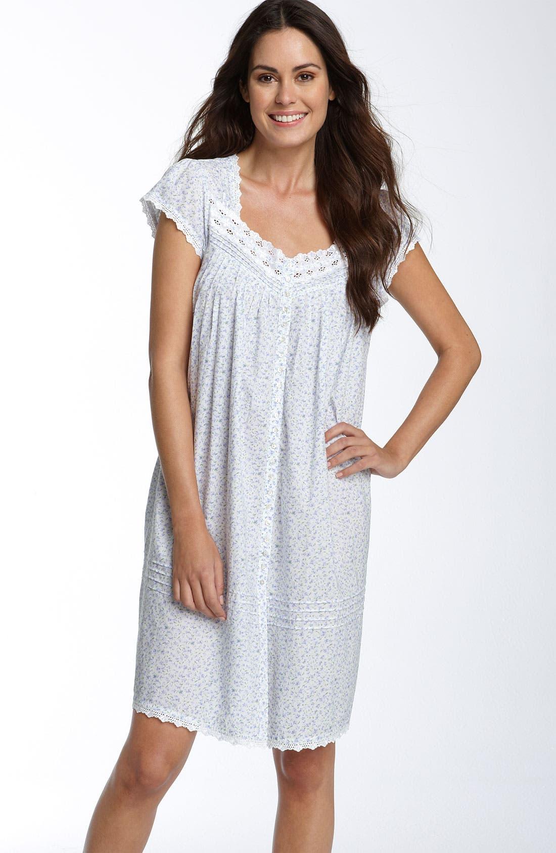 Main Image - Eileen West 'Lavender Fields' Short Gown