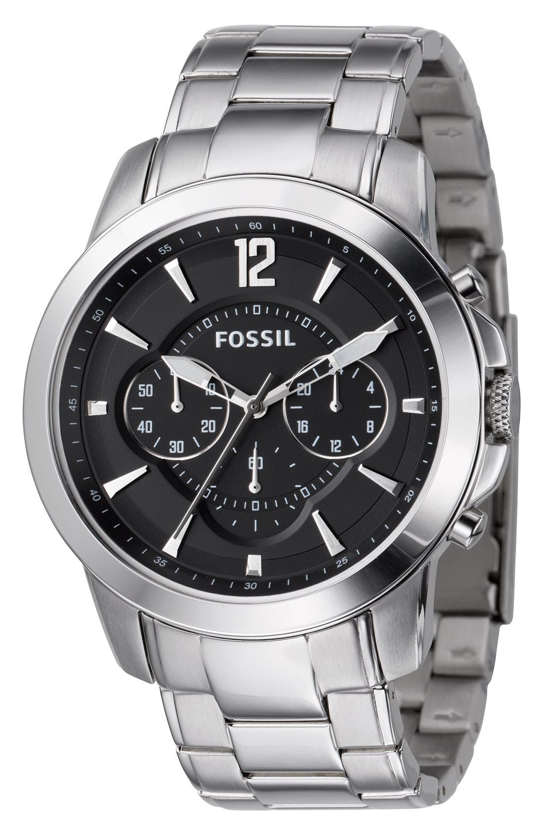Main Image - Fossil Chronograph Bracelet Watch, 44mm