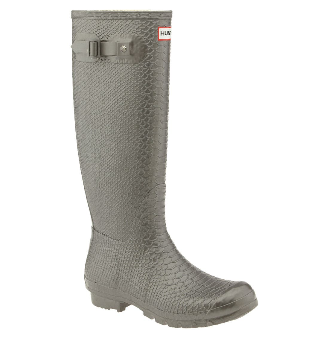 Alternate Image 1 Selected - Hunter 'Boa Tall' Rain Boot