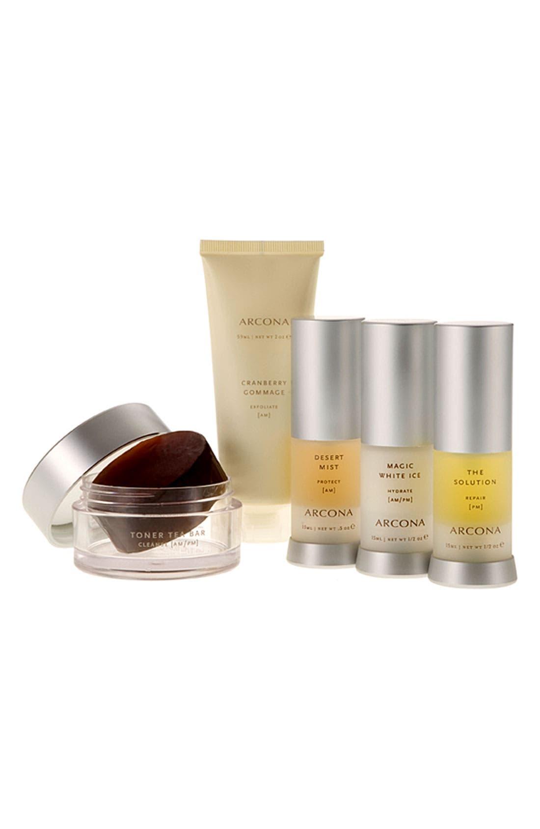 Alternate Image 1 Selected - ARCONA 'Basic Five' Travel Kit for Oily Skin ($102 Value)