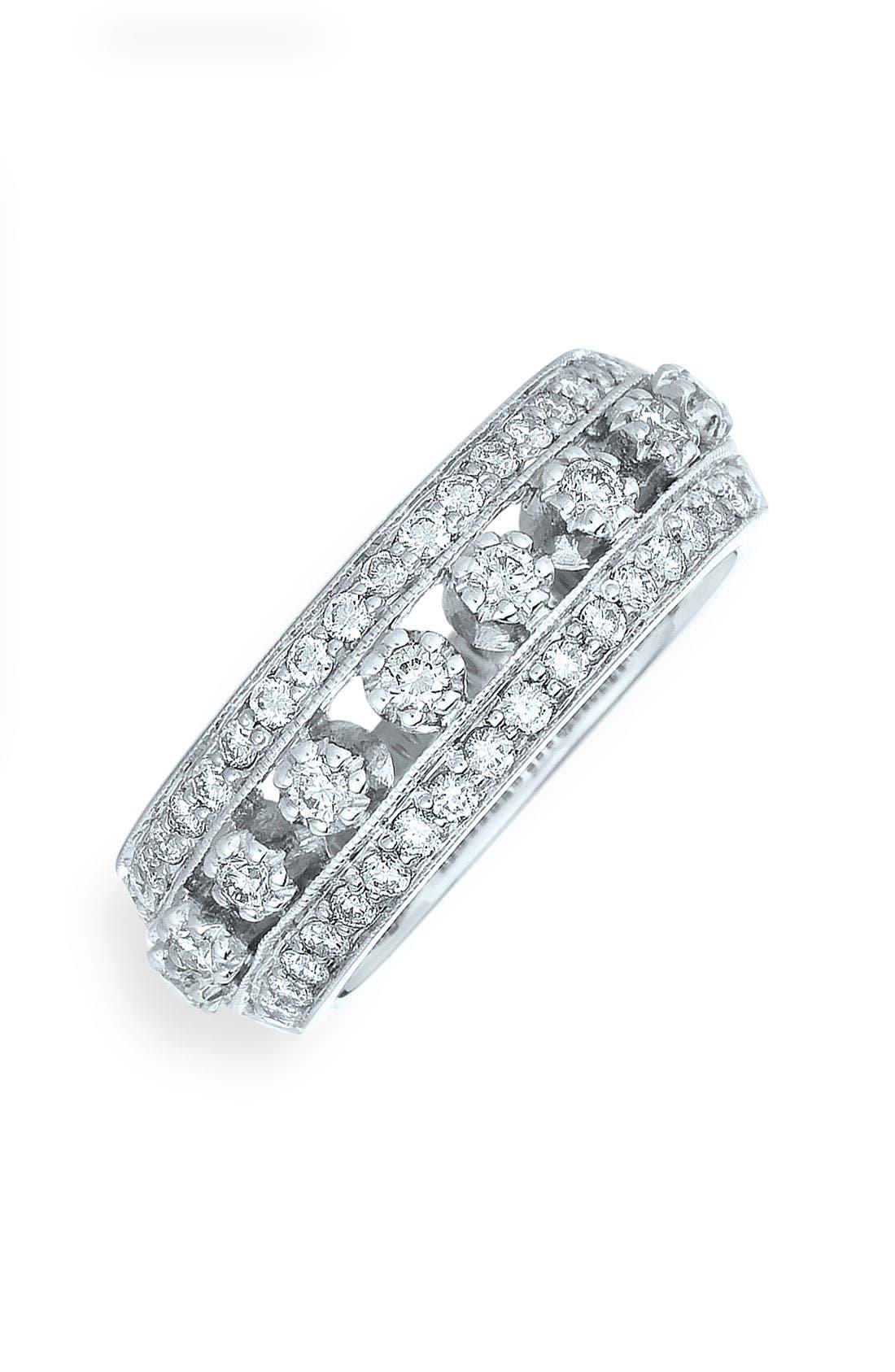 Alternate Image 1 Selected - Kwiat 'Stardust' 18k White Gold & Diamond Ring