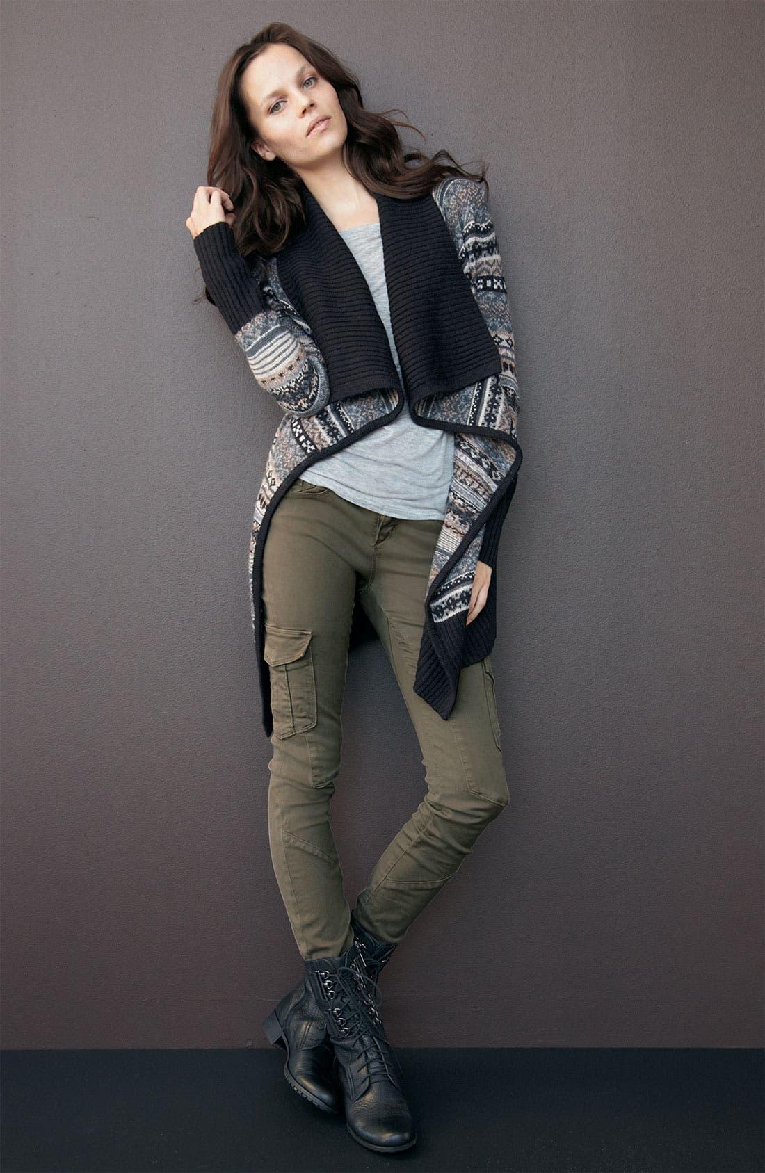 Alternate Image 2  - Kensie 'Nomad' Shawl Collar Cardigan