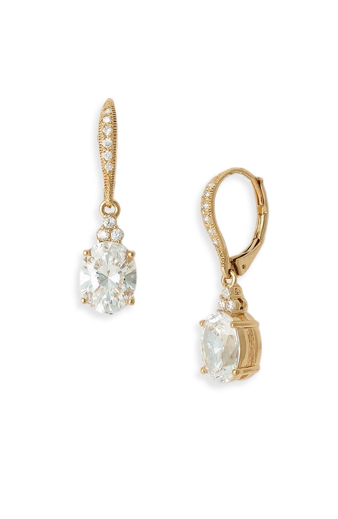 Alternate Image 1 Selected - Nadri Crystal Drop Earrings