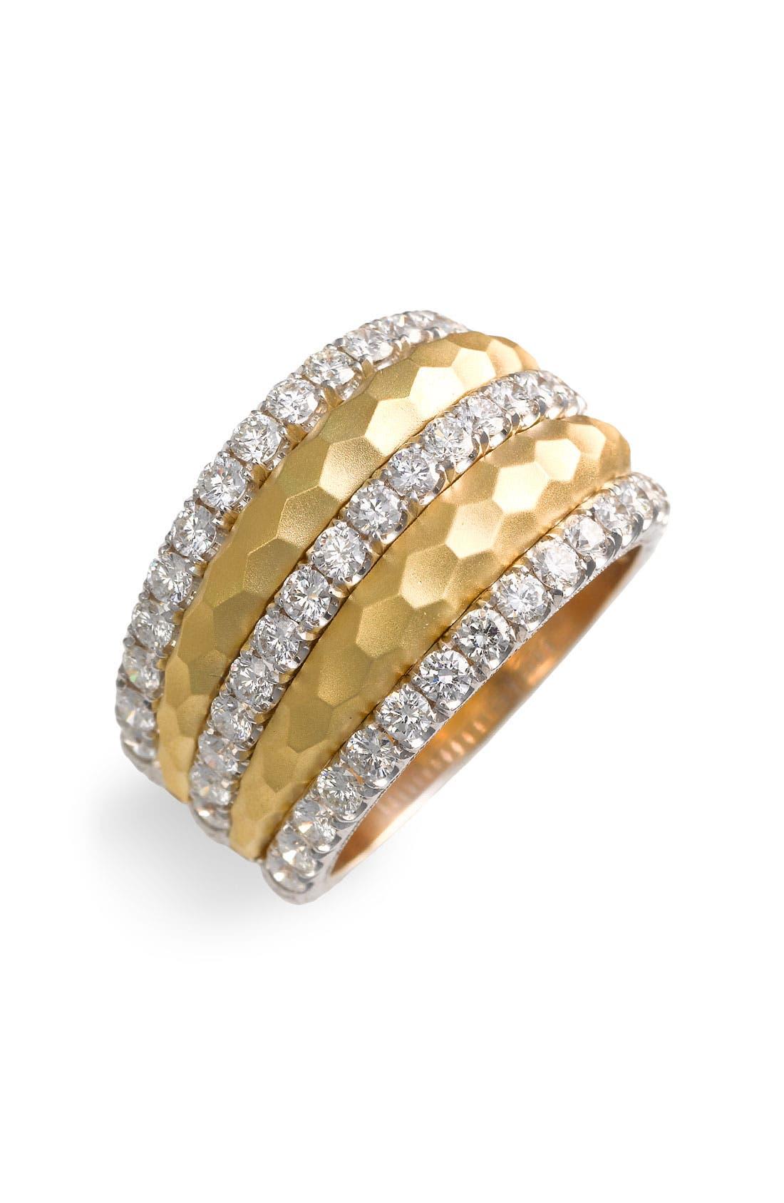 Alternate Image 1 Selected - Jack Kelége 'Byzantine' Gold & Diamond Ring