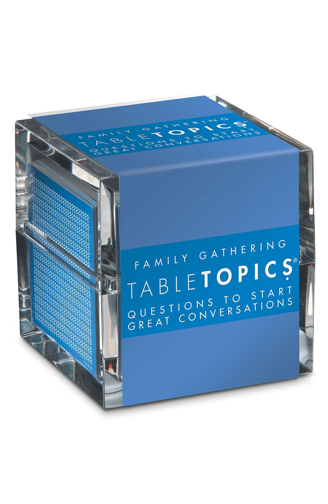 Main Image - TableTopics 'Family Gathering' Conversation Starters
