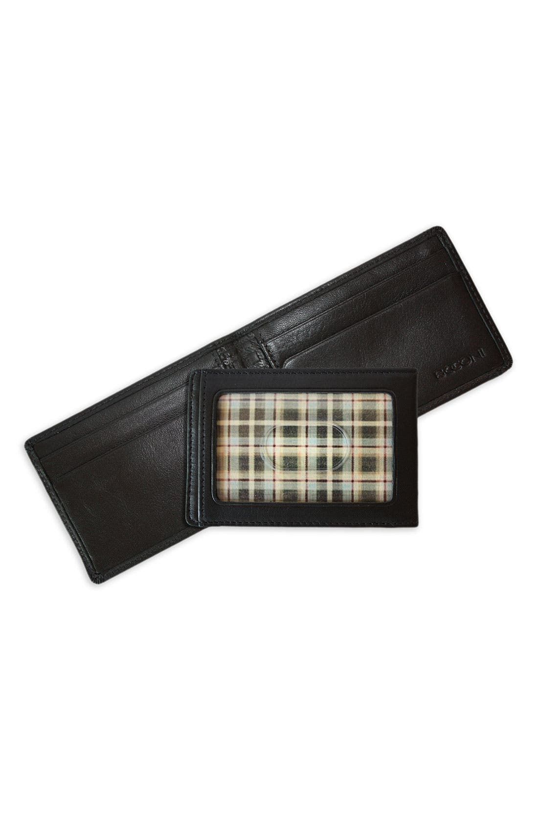Alternate Image 1 Selected - Boconi Leather Money Clip Wallet