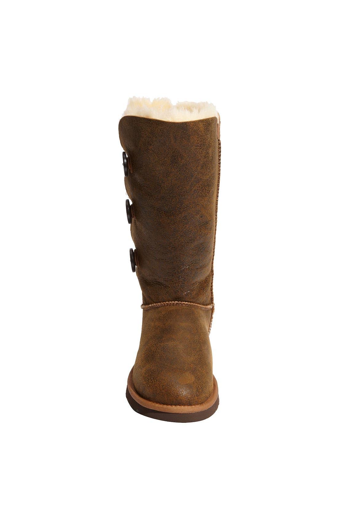 Alternate Image 3  - UGG® Australia 'Bailey Button Triplet' Boot (Bomber) (Women)