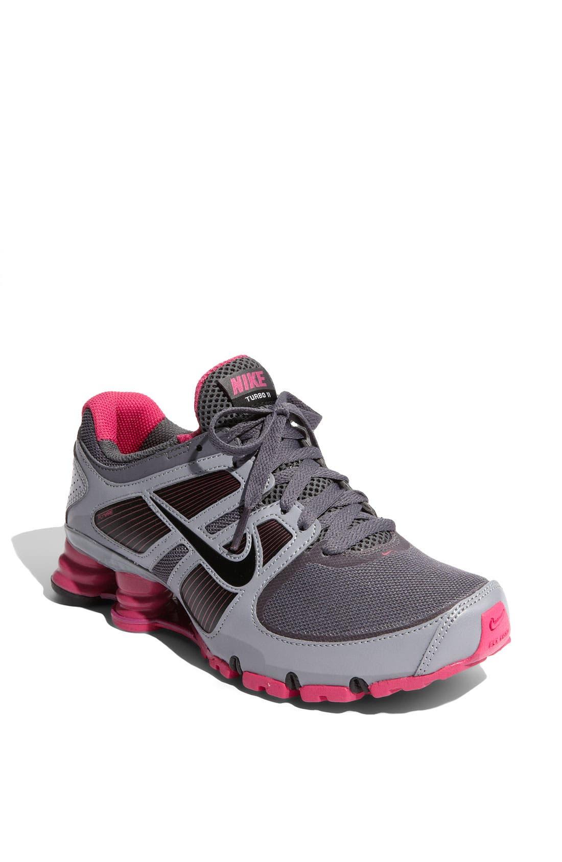 sneakers for cheap d6cbc 56d52 nike shox turbo 11 big kids Shox Turbo Little Girls Running Shoes TDV Kids White  Purple ...