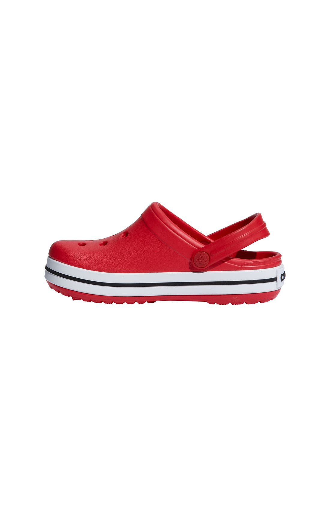 Alternate Image 2  - CROCS™ 'Crocband' Slip-On (Walker, Toddler & Little Kid)