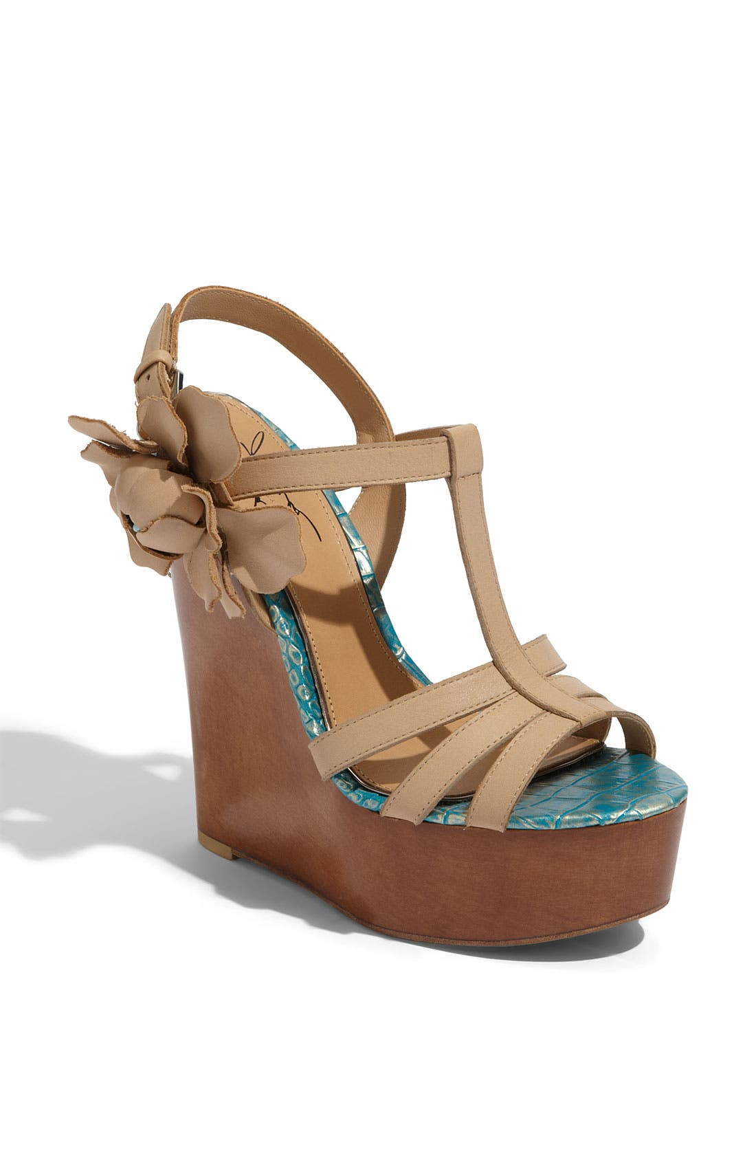 Alternate Image 1 Selected - Mark & James by Badgley Mischka 'Maiko' T-Strap Sandal