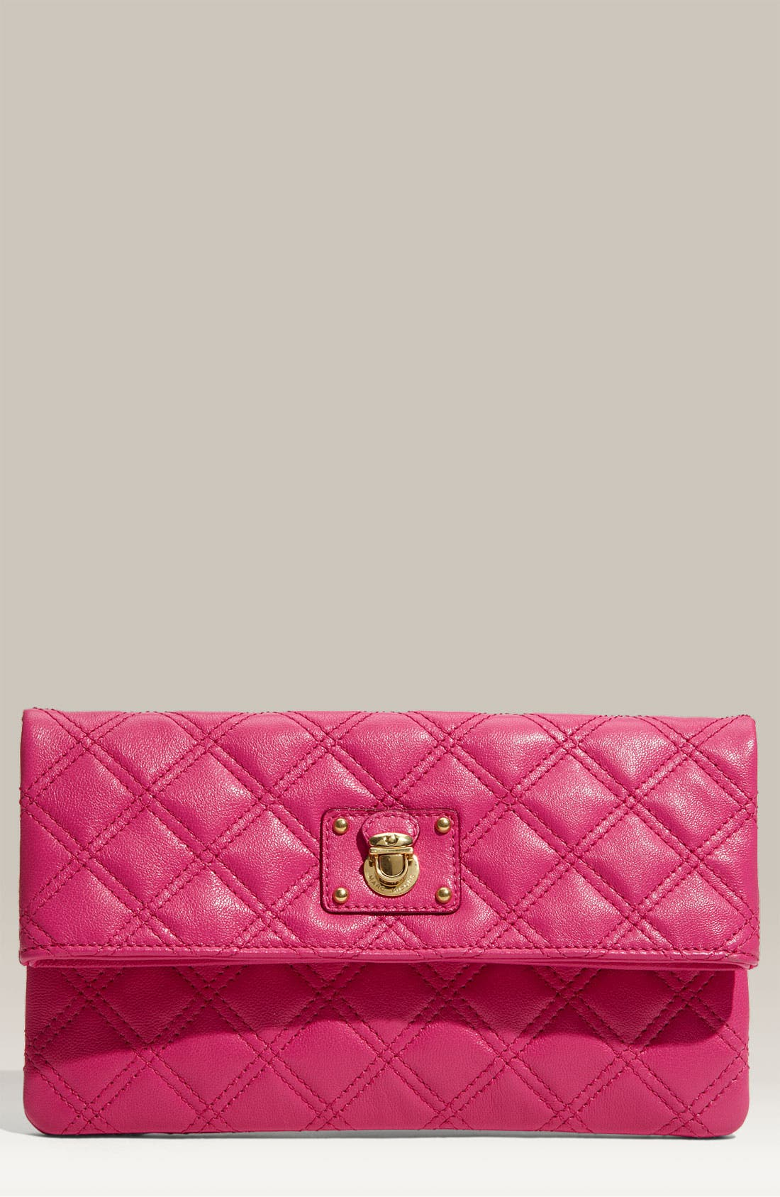 Alternate Image 1 Selected - MARC JACOBS 'Quilting - Eugenie' Leather Clutch