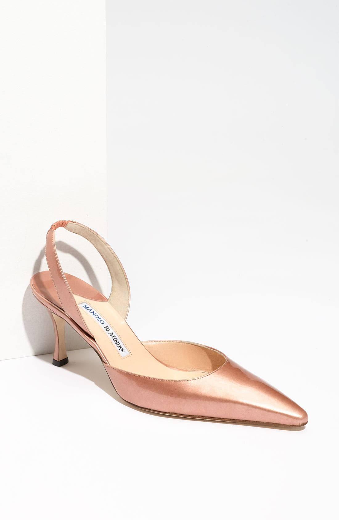 Alternate Image 1 Selected - Manolo Blahnik 'Carolyne' Slingback Pump