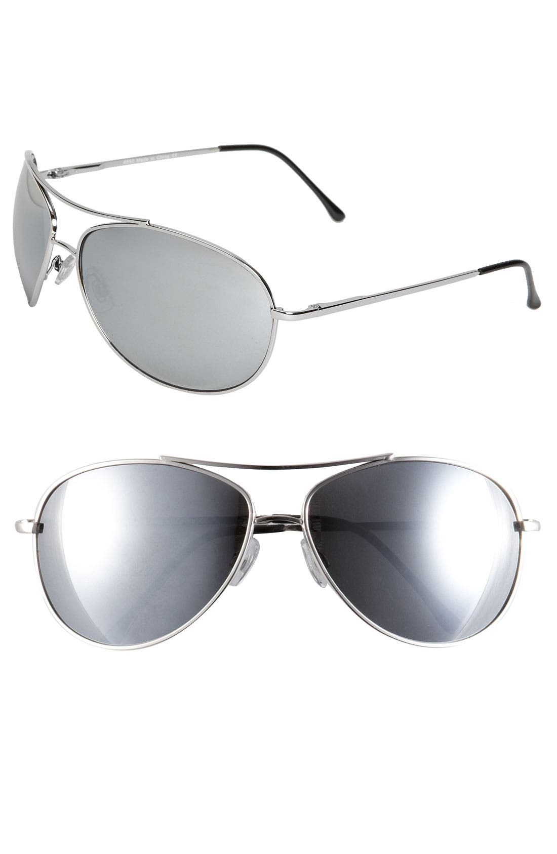 Alternate Image 1 Selected - KW 'Strike' Aviator Sunglasses