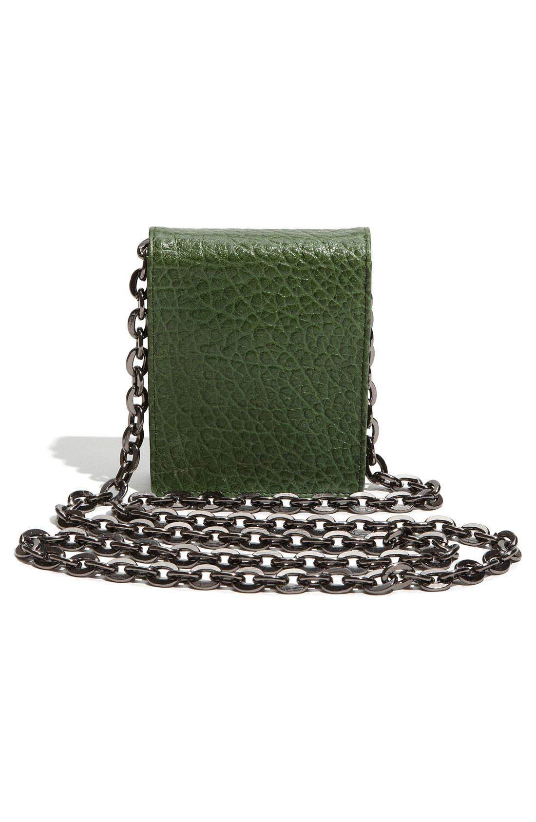 Alternate Image 4  - Nordstrom Studded Mini Leather Crossbody Bag