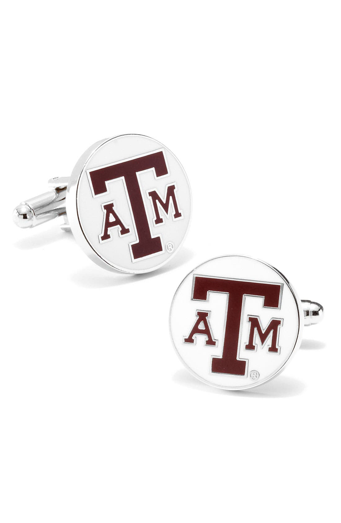 Main Image - Cufflinks, Inc. 'Texas A&M Aggies' Cuff Links