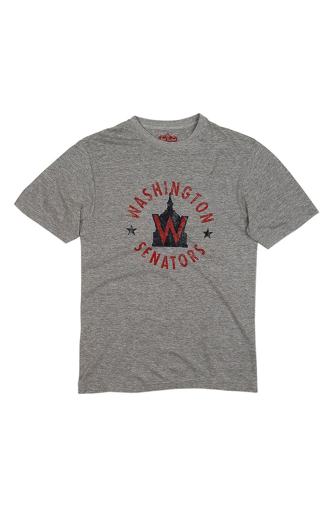 Main Image - Red Jacket 'Washington Senators' Trim Fit T-Shirt (Men)