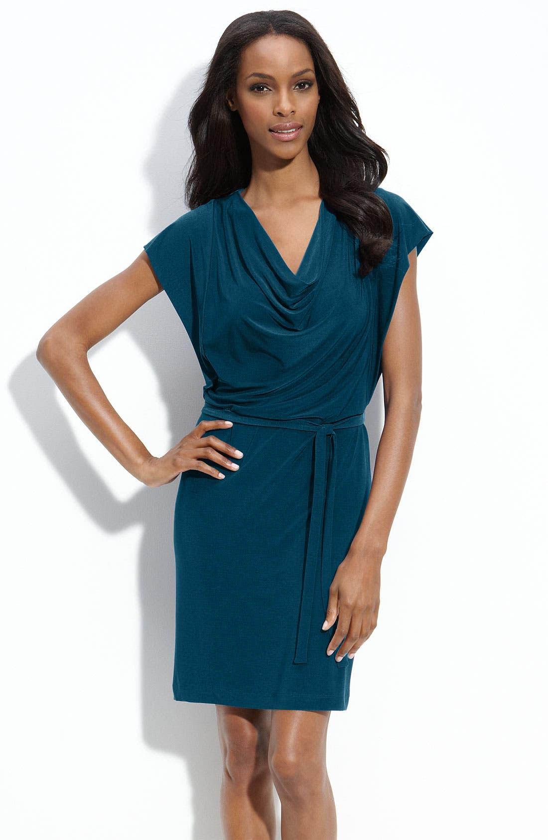 Main Image - Alex & Ava Jersey Sheath Dress