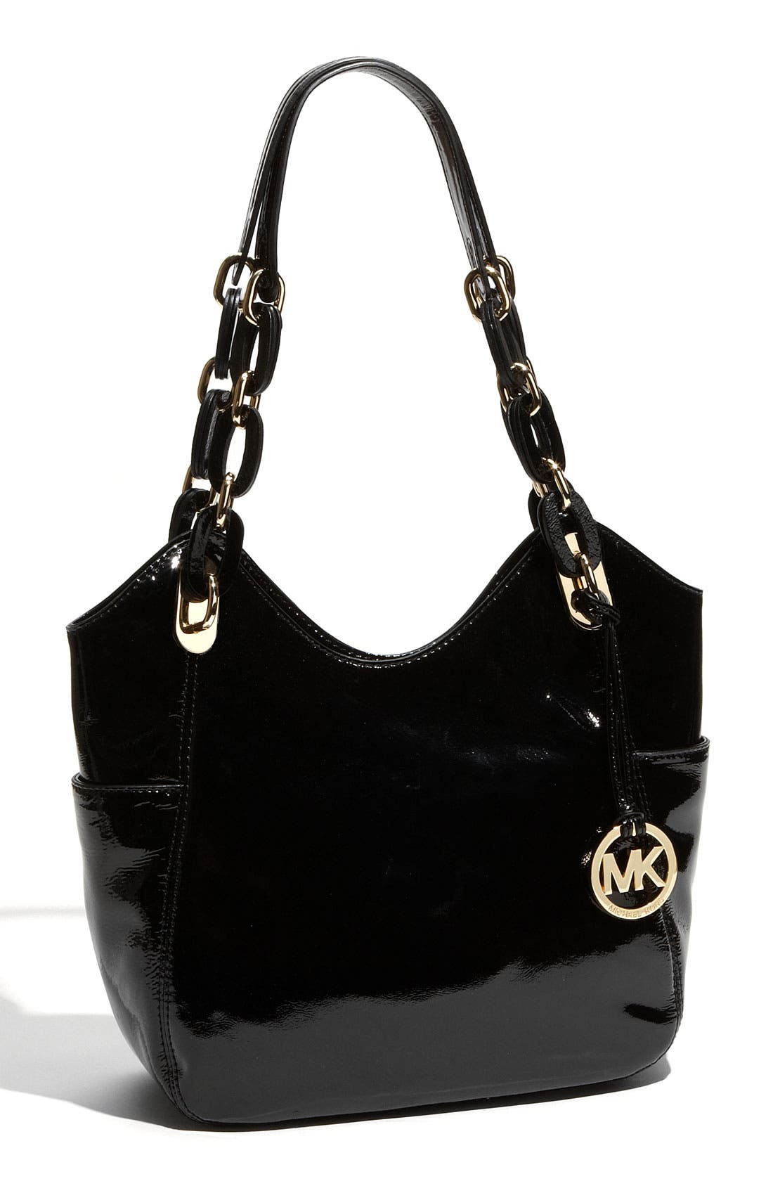 Alternate Image 1 Selected - MICHAEL Michael Kors 'Lilly - Medium' Patent Leather Tote