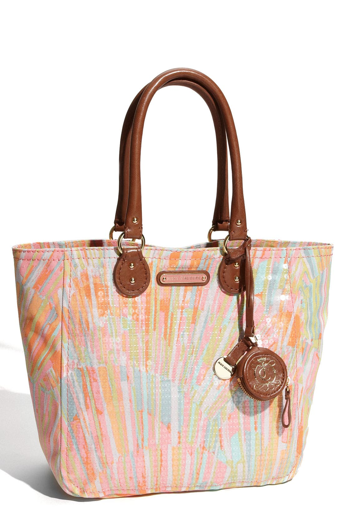 Alternate Image 1 Selected - Juicy Couture 'Sunburst Sequins - Small' Tote
