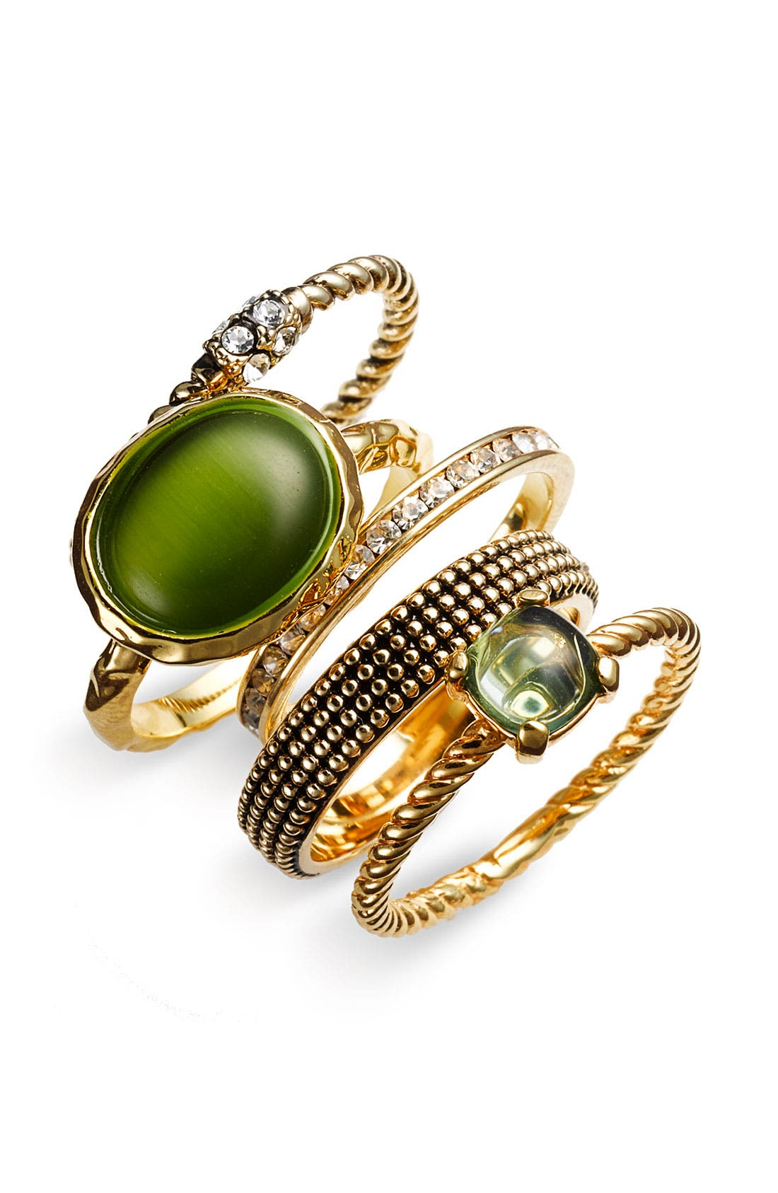Alternate Image 1 Selected - Ariella Collection Stacking Rings
